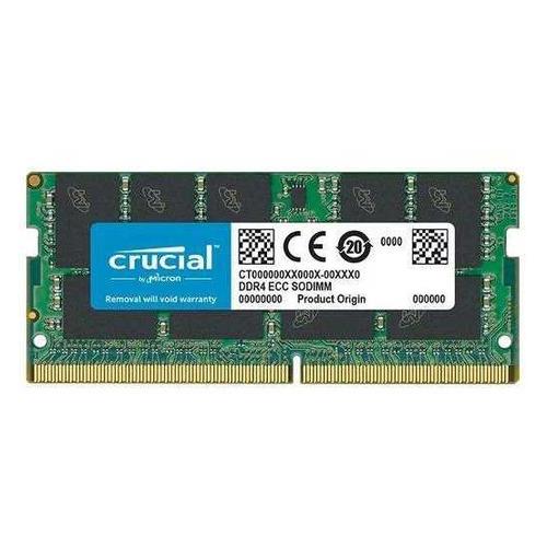 Модуль памяти CRUCIAL CT16G4TFD8266 DDR4 - 16Гб 2666, SO-DIMM, Ret цена 2017