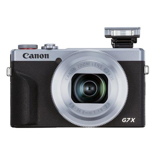 Цифровой фотоаппарат CANON PowerShot G7 X MARKIII, серебристый/ черный