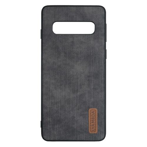Чехол (клип-кейс) Lyambda Reya, для Samsung Galaxy S10+, черный [la07-re-s10p-bk]
