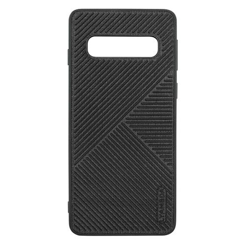 Чехол (клип-кейс) Lyambda Atlas, для Samsung Galaxy S10+, черный [la10-at-s10p-bk]