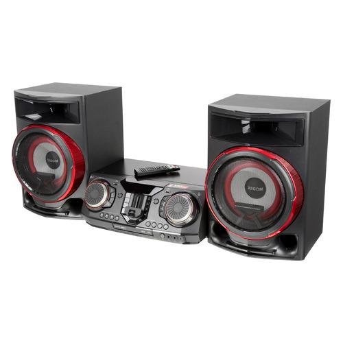 Музыкальный центр LG CL87, черный lg an mr650 пульт ду универсальный