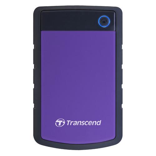 Фото - Внешний жесткий диск TRANSCEND StoreJet 25H3 TS4TSJ25H3P, 4ТБ, фиолетовый transcend storejet 25h3 blue 1tb 2 5 синий
