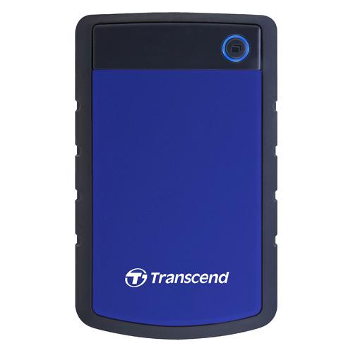 Фото - Внешний жесткий диск TRANSCEND StoreJet 25H3 TS4TSJ25H3B, 4ТБ, синий transcend storejet 25h3 blue 1tb 2 5 синий