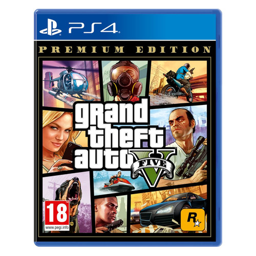 цены Игра PLAYSTATION Grand Theft Auto V. Premium Edition, RUS (субтитры)