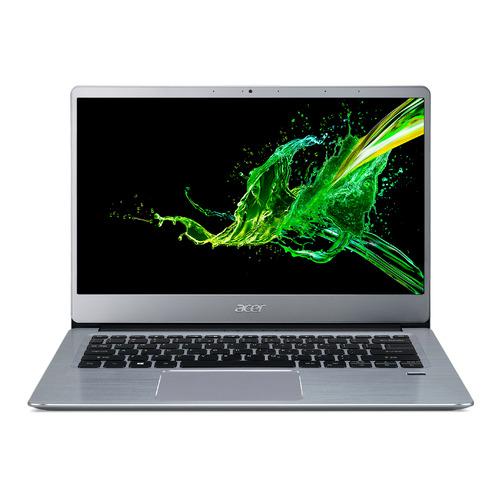 "Ультрабук ACER Swift 3 SF314-58-71HA, 14"", IPS, Intel Core i7 10510U 1.8ГГц, 8ГБ, 512ГБ SSD, Intel UHD Graphics , Eshell, NX.HPMER.001, серебристый"