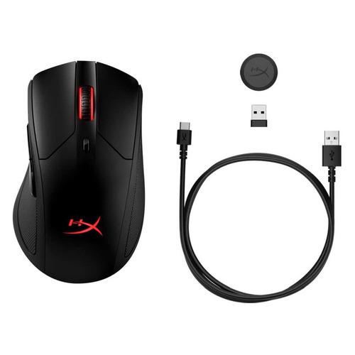 Мышь HYPERX Pulsefire Dart Wireless, игровая, оптическая, беспроводная, USB, черный [hx-mc006b] цена и фото