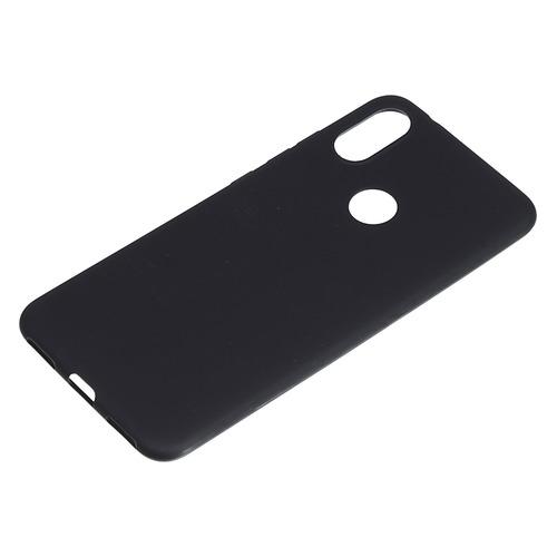 Чехол (клип-кейс) BORASCO Mate, для Xiaomi Mi A2/6X, черный [34634]