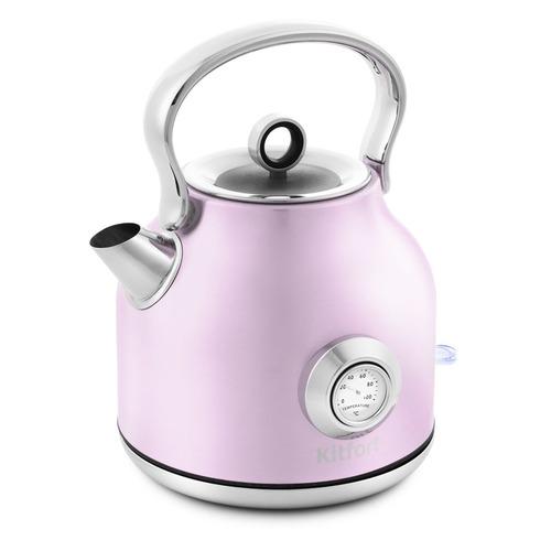 Чайник электрический KITFORT КТ-673-4, 2200Вт, розовый чайник kitfort кт 673 1 белый