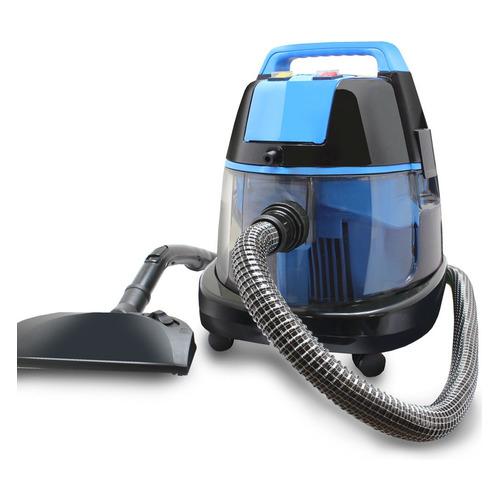Моющий пылесос GINZZU VS731, 2100Вт, черный/синий philips пылесос fc8588 01 2100вт синий черный