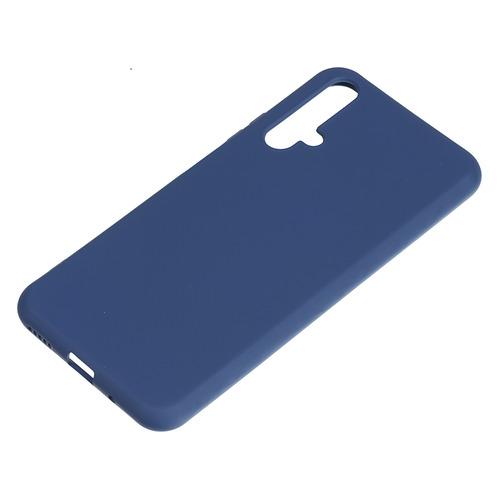 Чехол (клип-кейс) BORASCO Soft Touch, для Huawei Honor 20, синий [37669] чехол для huawei y9 2018 caseguru soft touch черный