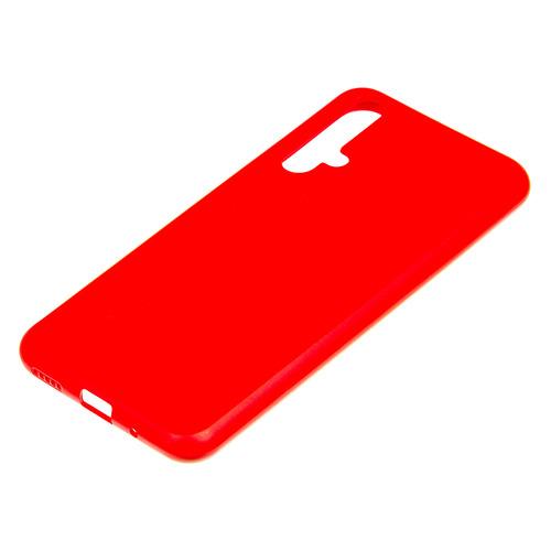 Чехол (клип-кейс) BORASCO Soft Touch, для Huawei Honor 20, красный [37670] чехол для huawei y9 2018 caseguru soft touch черный