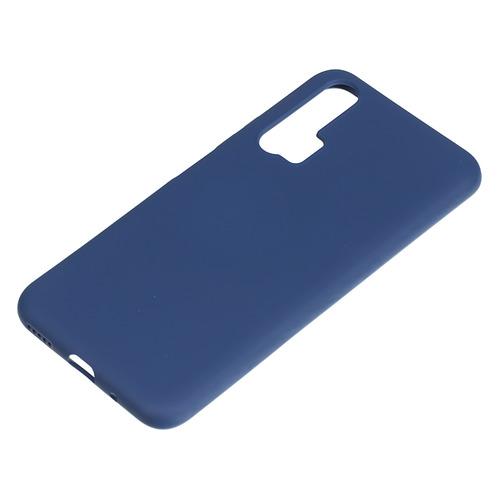 Чехол (клип-кейс) BORASCO Soft Touch, для Huawei Honor 20 Pro/Nova 5T, синий [37671] цена и фото