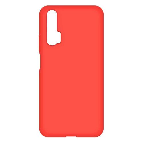 Чехол (клип-кейс) BORASCO Soft Touch, для Huawei Honor 20 Pro, красный [37672]