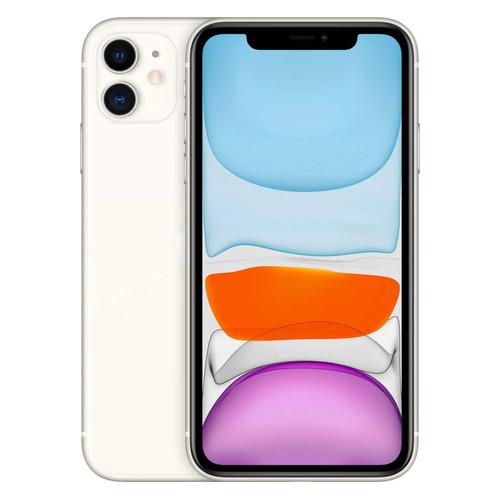 Смартфон APPLE iPhone 11 128Gb, MWM22RU/A, белый