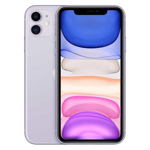 Смартфон APPLE iPhone 11 128Gb, MWM52RU/A, фиолетовый