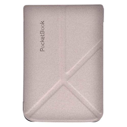 Обложка POCKETBOOK трансформер, светло-серый, PocketBook 616/627/632 vivacase smart чехол обложка для pocketbook 650 black vpb p6sm01 bl