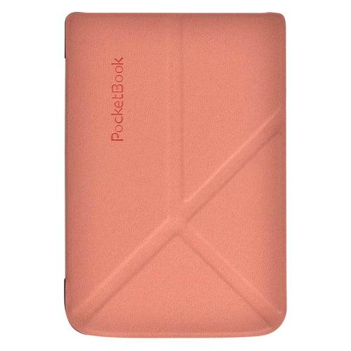 Обложка POCKETBOOK трансформер, розовый, PocketBook 616/627/632 vivacase smart чехол обложка для pocketbook 650 black vpb p6sm01 bl