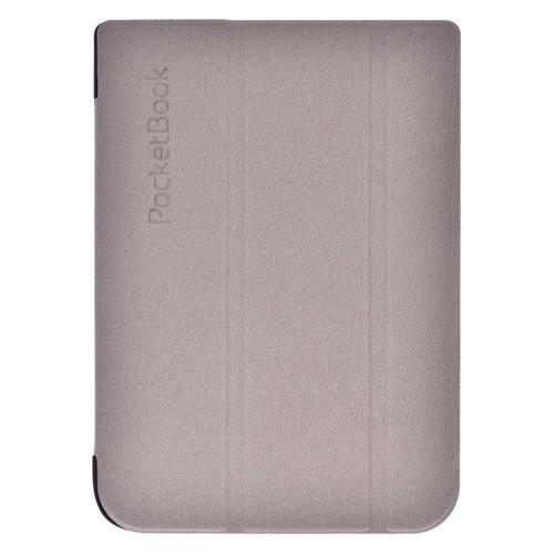 Обложка POCKETBOOK светло-серый, PocketBook 740 vivacase smart чехол обложка для pocketbook 650 black vpb p6sm01 bl