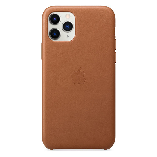 Чехол (клип-кейс) APPLE Leather Case, для Apple iPhone 11 Pro, коричневый [mwyd2zm/a]
