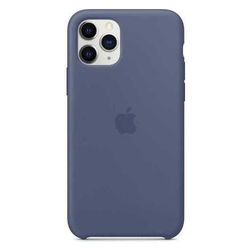 Чехол (клип-кейс) Apple Silicone Case, для Apple iPhone 11 Pro Max, синий [mx032zm/a]