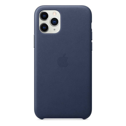 Чехол (клип-кейс) APPLE Leather Case, для Apple iPhone 11 Pro Max, синий [mx0g2zm/a] все цены