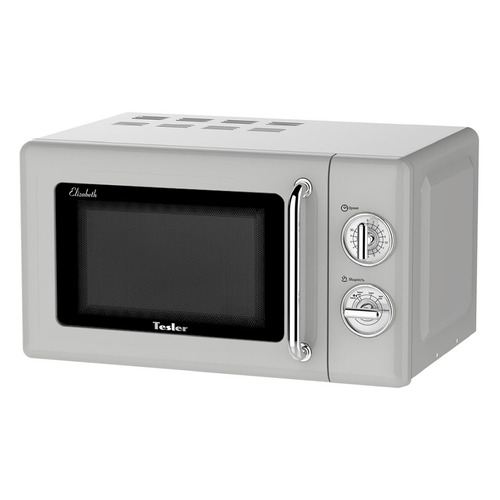 Микроволновая Печь Tesler MM-2045 20л. 700Вт серый/серебристый микроволновая печь tesler meb 2385b