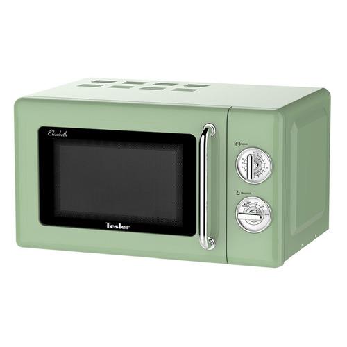 Микроволновая Печь Tesler MM-2045 20л. 700Вт зеленый/серебристый микроволновая печь tesler meb 2385b