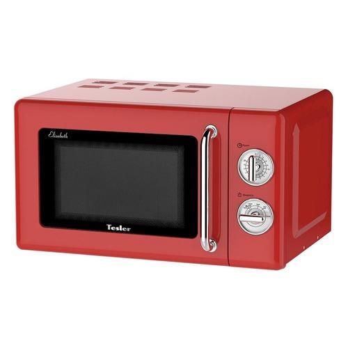 Микроволновая Печь Tesler MM-2045 20л. 700Вт красный/серебристый микроволновая печь tesler meb 2385b