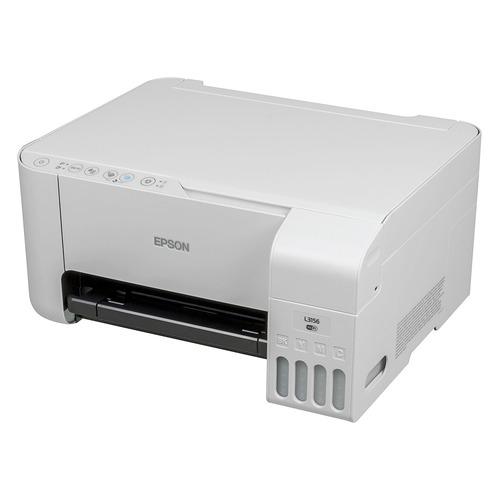 цена на МФУ струйный EPSON L3156, A4, цветной, струйный, белый [c11cg86412]