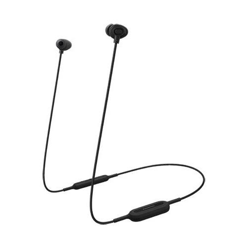 Наушники с микрофоном PANASONIC RP-NJ310BGE, Bluetooth, вкладыши, черный [rp-nj310bgek] цена
