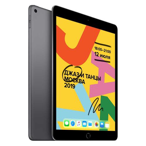 Планшет APPLE iPad 2019 32Gb Wi-Fi MW742RU/A, 2GB, 32GB, iOS темно-серый цена