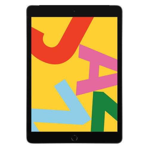 Планшет APPLE iPad 2019 32Gb Wi-Fi + Cellular MW6A2RU/A, 2GB, 32GB, 3G, 4G, iOS темно-серый цена