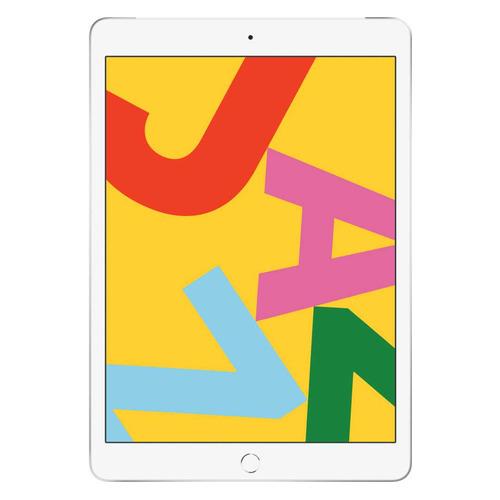 Планшет APPLE iPad 2019 32Gb Wi-Fi + Cellular MW6C2RU/A, 2GB, 32GB, 3G, 4G, iOS серебристый планшет apple ipad pro 12 9 128gb wi fi cellular ml2j2ru a 4gb 128gb 3g 4g ios серебристый