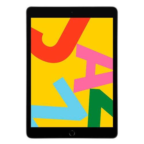 Планшет APPLE iPad 2019 128Gb Wi-Fi MW772RU/A, 2GB, 128GB, iOS темно-серый