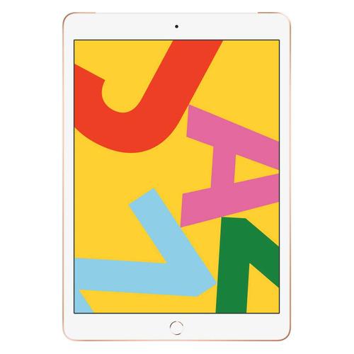 Планшет APPLE iPad 2019 128Gb Wi-Fi + Cellular MW6G2RU/A, 2GB, 128GB, 3G, 4G, iOS золотистый смартфон doogee x50l золотистый 5 16 гб lte wi fi gps 3g bluetooth