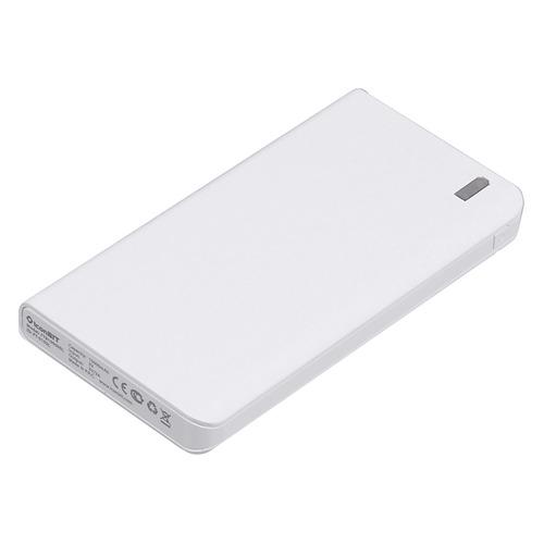Внешний аккумулятор (Power Bank) ICONBIT FTB10000SL, 10000мAч, белый [ft-0102l]
