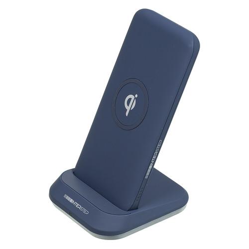 Внешний аккумулятор (Power Bank) INTERSTEP 65363, 10000мAч, синий