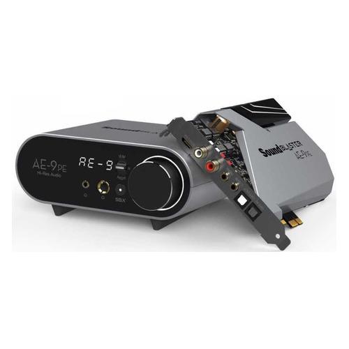 Звуковая карта PCI-E CREATIVE Sound Blaster АЕ-9 PE, 5.1, Ret [70sb178000001] звуковая карта creative sound blaster z pci ex int retail 70sb150000001