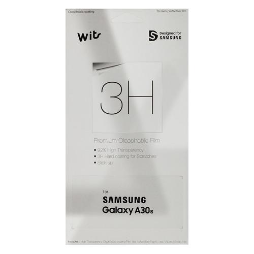 Защитная пленка для экрана SAMSUNG Wits для Samsung Galaxy A30s, прозрачная, 1 шт, прозрачный [gp-tfa307wsatr] стоимость