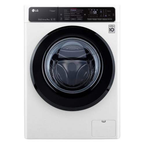 Стиральная машина LG F4H5VS6W, фронтальная стиральная машина lg f10b8sd0 класс a загр фронтальная макс 4кг белый