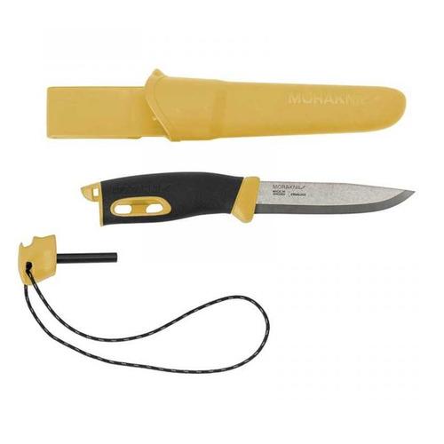 Нож Morakniv Companion Spark (13573) стальной разделочный лезв.104мм черный/желтый