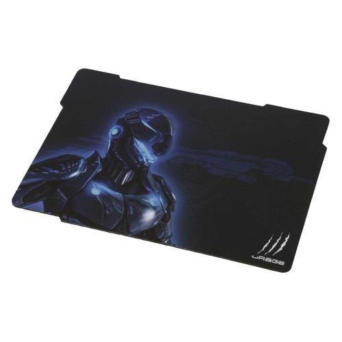 Коврик для мыши HAMA Urage Cyberpad, черный/синий [00113743] все цены