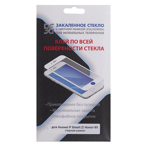 Защитное стекло для экрана DF hwColor-103 для Huawei P Smart Z/Honor 9X, 3D, 1 шт, черный [df hwcolor-103 (black)] DF