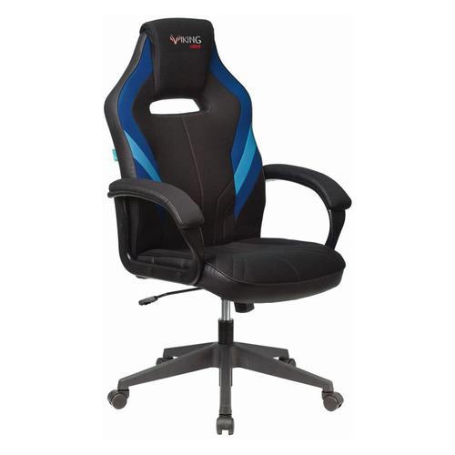 Кресло игровое ZOMBIE VIKING 3 AERO, на колесиках, искусственная кожа/ткань, синий/черный [viking 3 aero blue] недорого