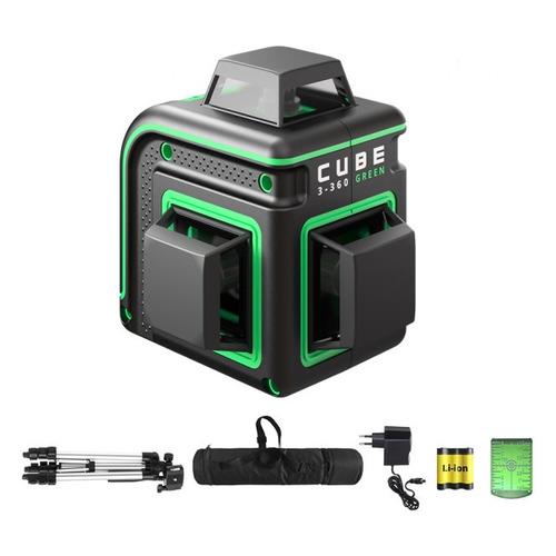 Фото - Лазерный уровень ADA Cube 3-360 GREEN Professional Edition [а00573] лазерный уровень ada cube 3 360 green home edition