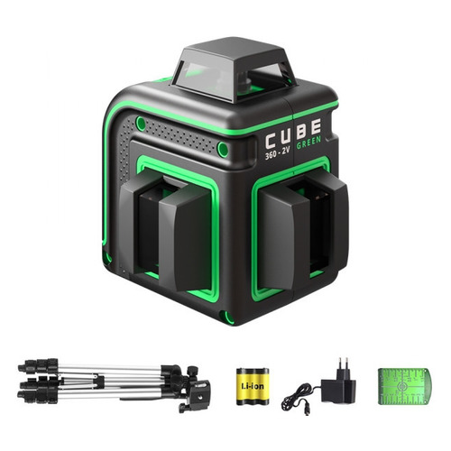 Лазерный уровень ADA Cube 360-2V GREEN Professional Edition [а00571]