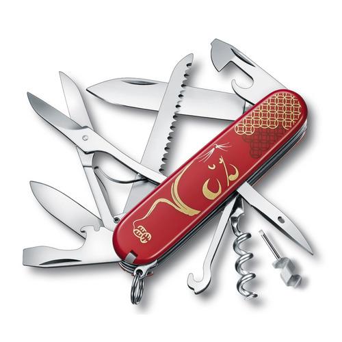 Складной нож VICTORINOX Ranger Grip 55 Autumn Spirit SE2019, 12 функций, 130мм, оранжевый / черный VICTORINOX