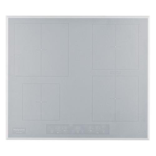 Индукционная варочная панель HOTPOINT-ARISTON KIA 641 B B (WH), индукционная, независимая, белый индукционная варочная панель hotpoint ariston kia 641 b c