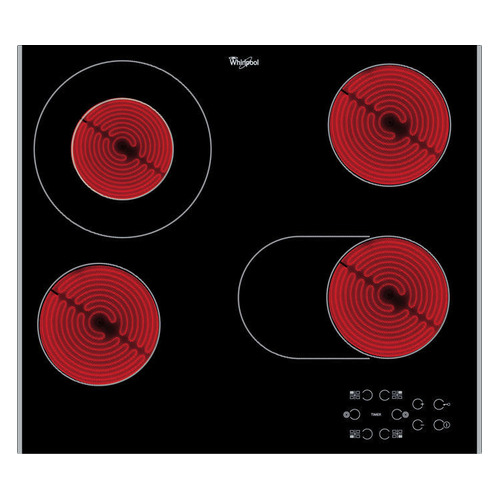 Варочная панель WHIRLPOOL AKT 8210 LX, Hi-Light, независимая, черный 101535