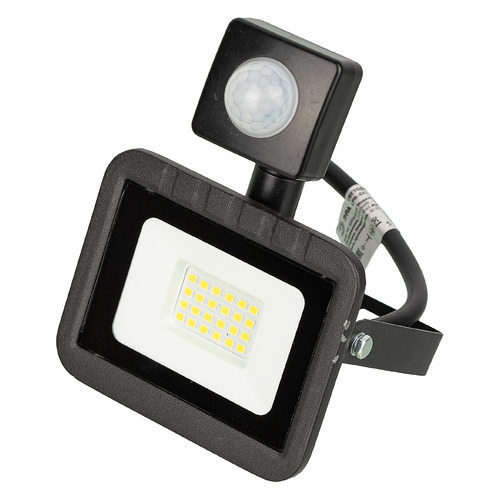 Прожектор уличный ЭРА LPR-041-2-65K-020, 20Вт, с датчиком движения [б0043585]